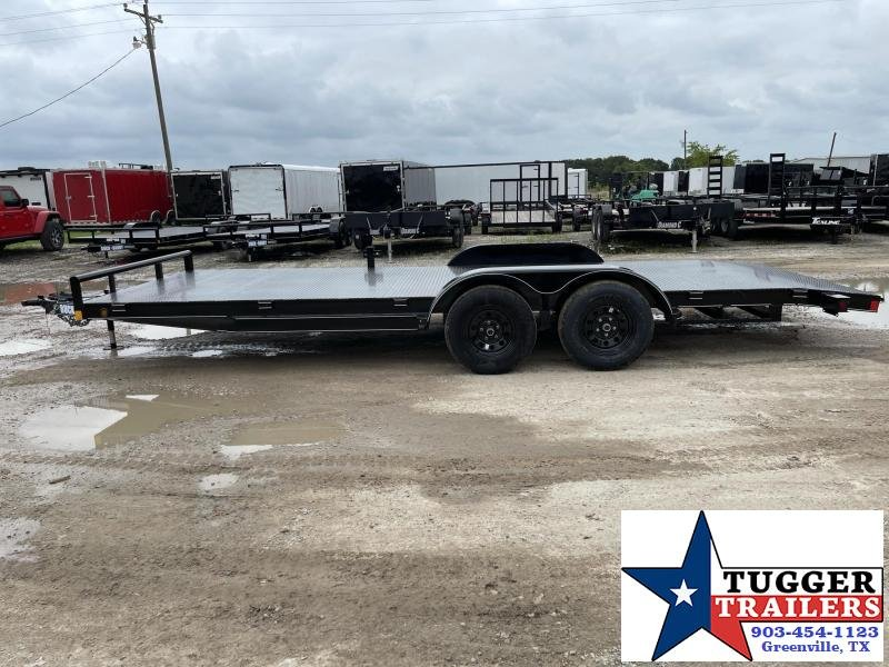2021 Buck Dandy CAR HAULER FLATBED Flatbed Trailer