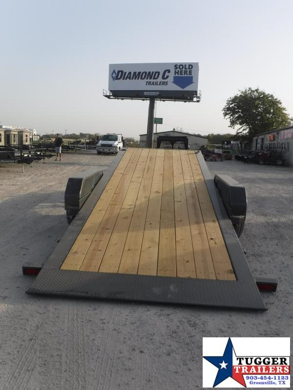 2021 Diamond C Trailers 82x20 RoadClipper Flatbed Dampened Tilt Flatbed Trailer