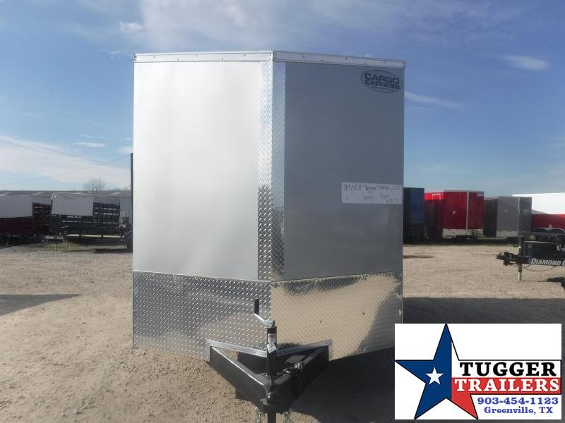2022 Cargo Express 7x14 14ft Utility Tool Work Side Toy Lawn Move Enclosed Cargo Trailer