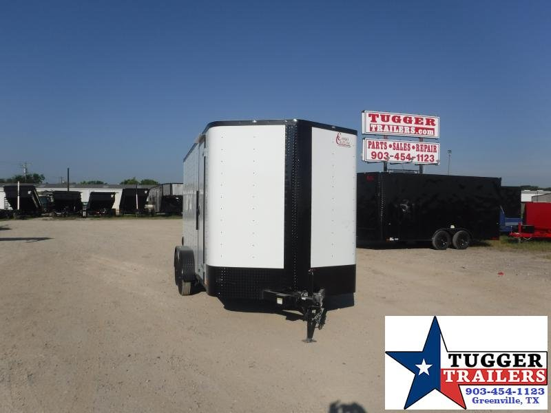 2020 Cargo Craft 7x14 14ft Utility Box Landscape Sport Move Travel Enclosed Cargo Trailer