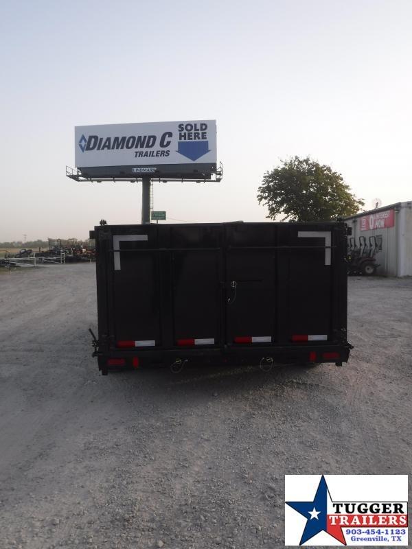 2021 Diamond C Trailers 82x16 Road Clipper Dump Trailer