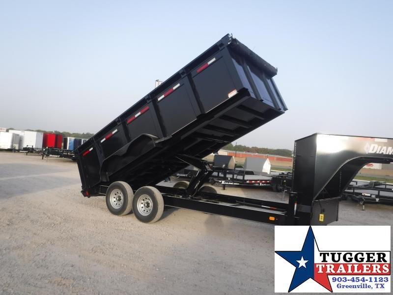 2021 Diamond C Trailers 82x16 Road Clipper Dump Trailer