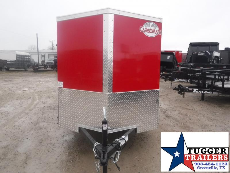 2021 Cargo Mate 5x10 10ft Utility Sport Band Move Bike Travel Enclosed Cargo Trailer