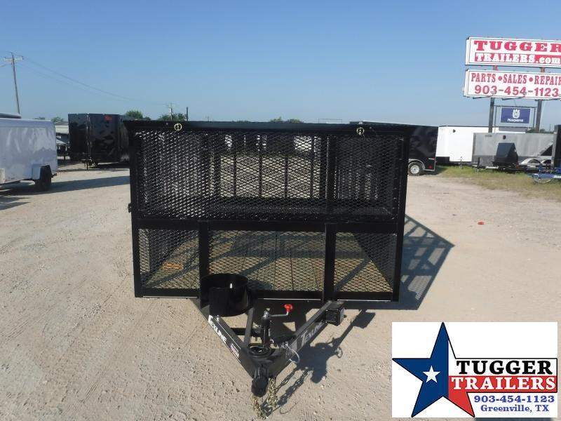 2020 TexLine 77x12 12ft Landscape Mow Steel Equipment Yard Utility Trailer
