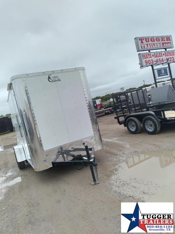 2021 Cargo Craft 6x12 12ft Elite Flat Utility Toy Work Landscape Enclosed Cargo Trailer