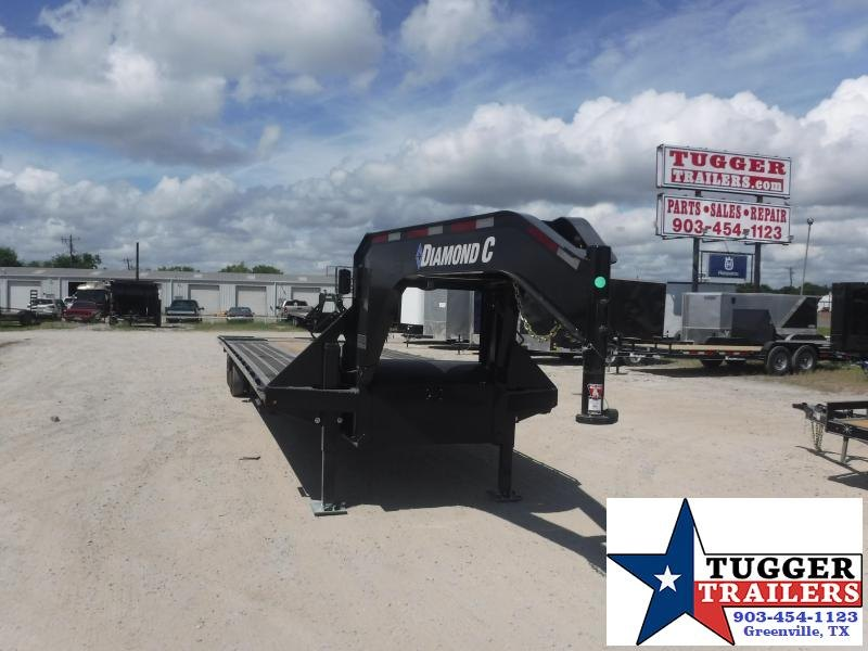 2020 Diamond C Trailers 102x38 38ft HDT Tilt Steel Heavy Duty Equipment Flatbed Trailer