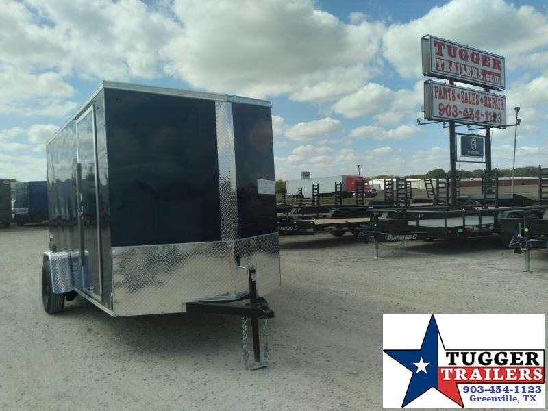2021 Cargo Express6x12 12ft Utility Band Sport Camp Hunt Work Land Cargo Enclosed Trailer