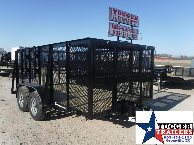 2020 TexLine 77x12 12ft Mow Lawn Landscape Weed Eater Tool Utility Trailer