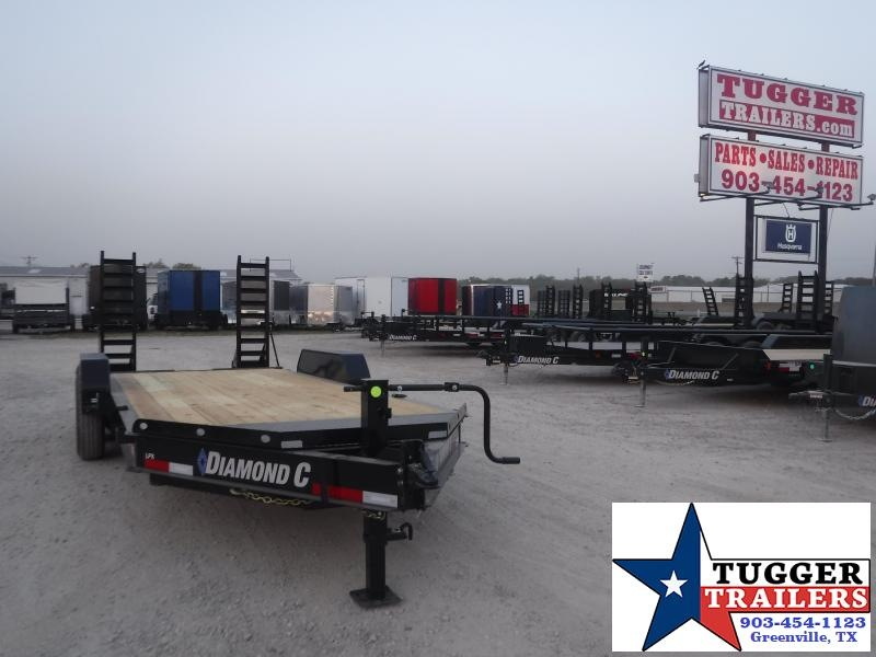 2021 Diamond C Trailers 82x18 RoadClipper Flatbed Trailer