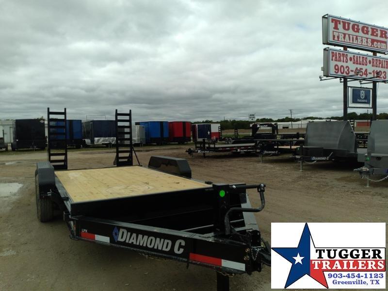 2021 Diamond C Trailers 82x16 16ft LPX Steel Farm Construction Work Heavy Equipment Trailer
