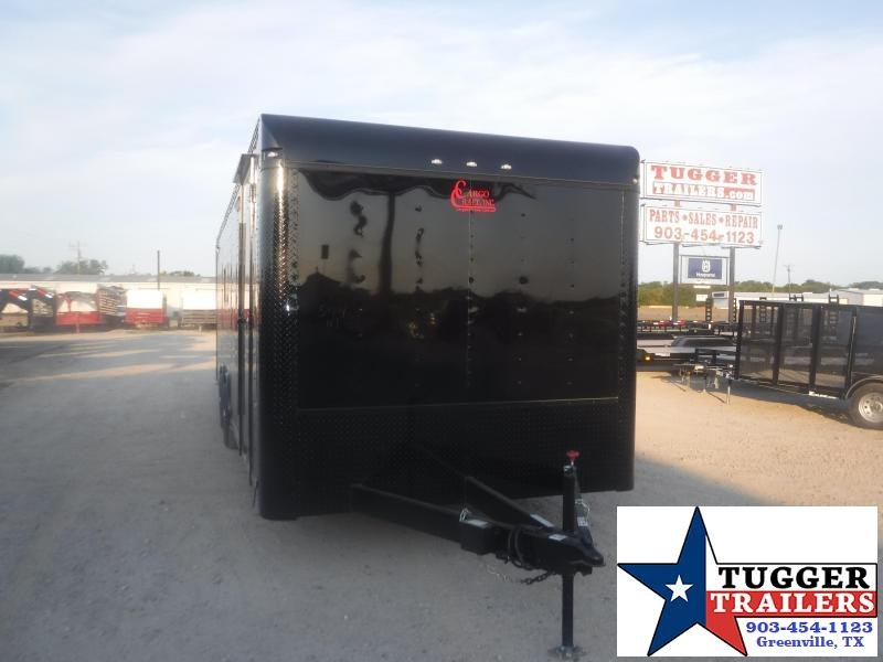 2020 Cargo Craft 8.5x28 28ft Spread Axle Black Out Cargo Enclosed Car / Racing Trailer