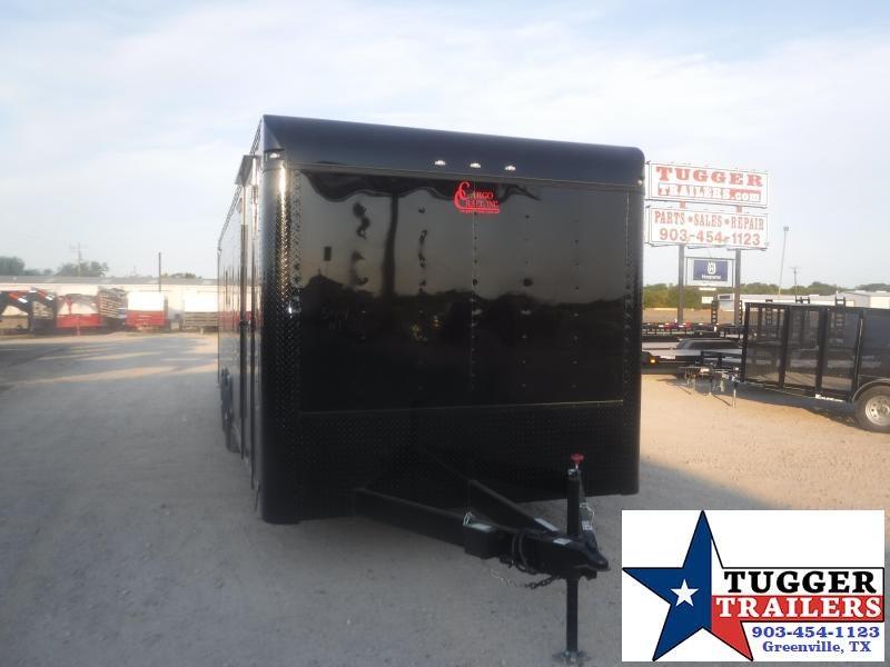 2020 Cargo Craft 8.5x28 28ft Spread Axle Black Out Cargo Enclosed Car / Racing Trailer