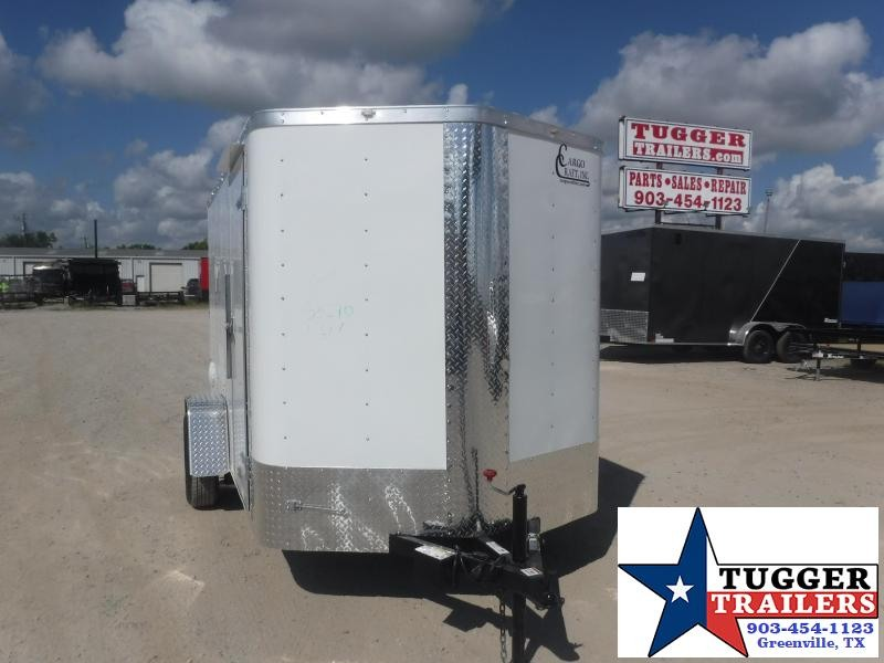 2020 Cargo Craft 6x10 10ft Elite V-Nose Utility Bike Work Band Enclosed Cargo Trailer