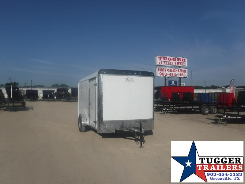 2020 Cargo Craft 7x12 12ft Expedition Utility Work Toy Lawn Mow Enclosed Cargo Trailer