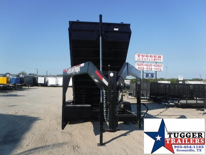 2022 Texas Pride Trailers 7X14X4 DT71414KGN Dump Trailer