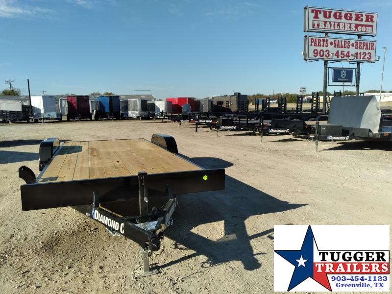 2021 Diamond C Trailers 20x83 GTF Classic Open Utility Flatbed Show Car / Racing Trailer