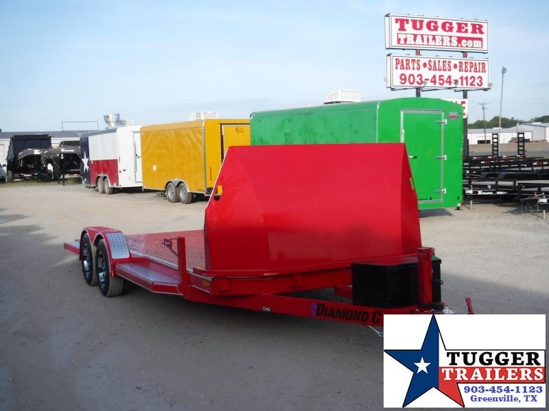 2020 Diamond C Trailers 83x20 20ft CHS Auto Mobile Steel Car / Racing Open Car Hauler Trailer