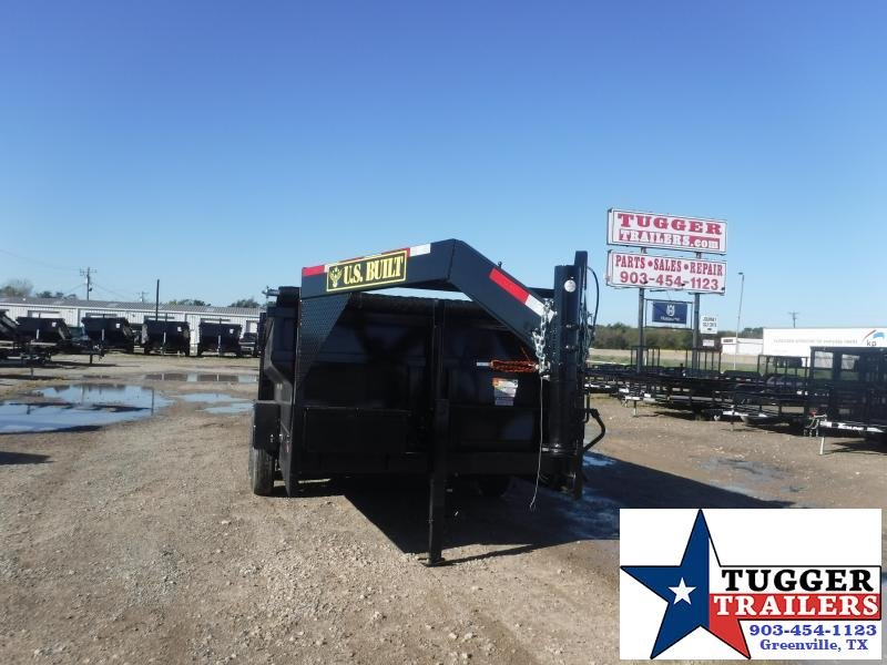 2022 Texas Pride Trailers DT71414KGN 7x14x3 Dump Trailer