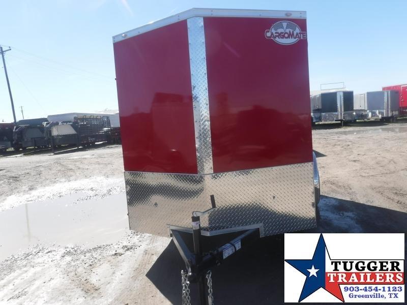 2021 Cargo Mate 6x10 Tool Landscape Side ATV  Enclosed Cargo Trailer