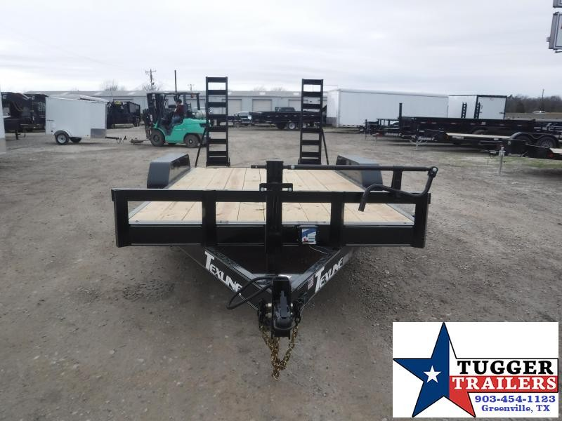 2021 TexLine 83x16 16ft Bobcat Utility Open Farm Work Tool Toy Equipment Trailer