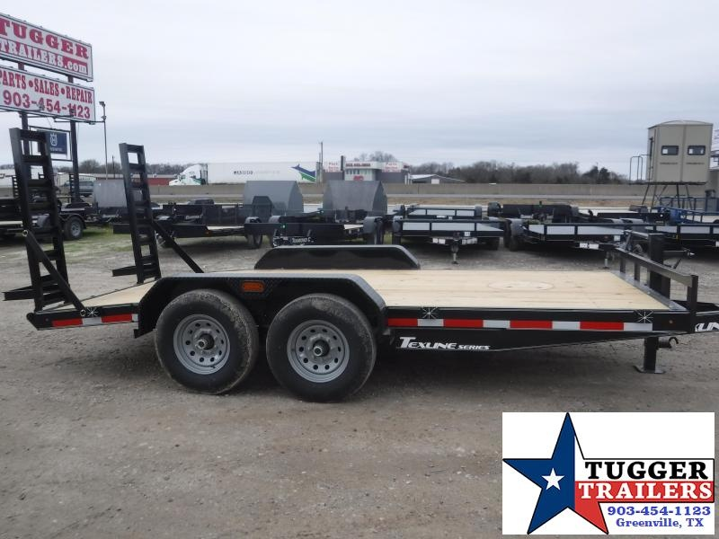 2021 TexLine 83x16 16ft Bobcat Utility Open Farm Work Tool Toy Equipment Trailer