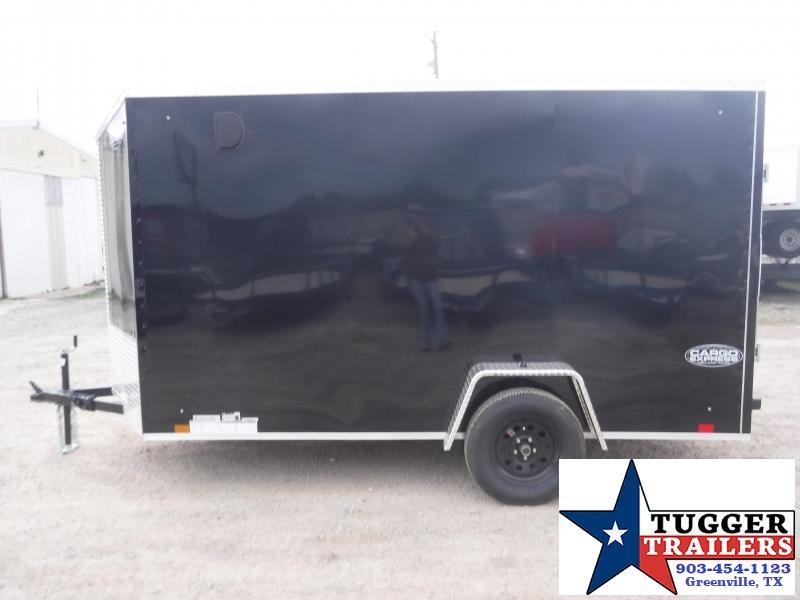 2020 Cargo Express 6x12 12ft Slope 2' V-Nose Utility Enclosed Cargo Trailer