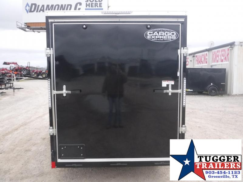 2020 Cargo Express 6x12 12ft Slope 2' V-Nose Utility Enclosed Cargo Trailer