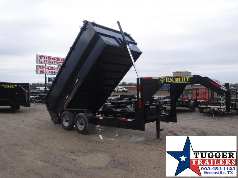 2021 Texas Pride Trailers 7x14 14ft Utility Work Rock Asphalt Remodel Equip Dump Trailer