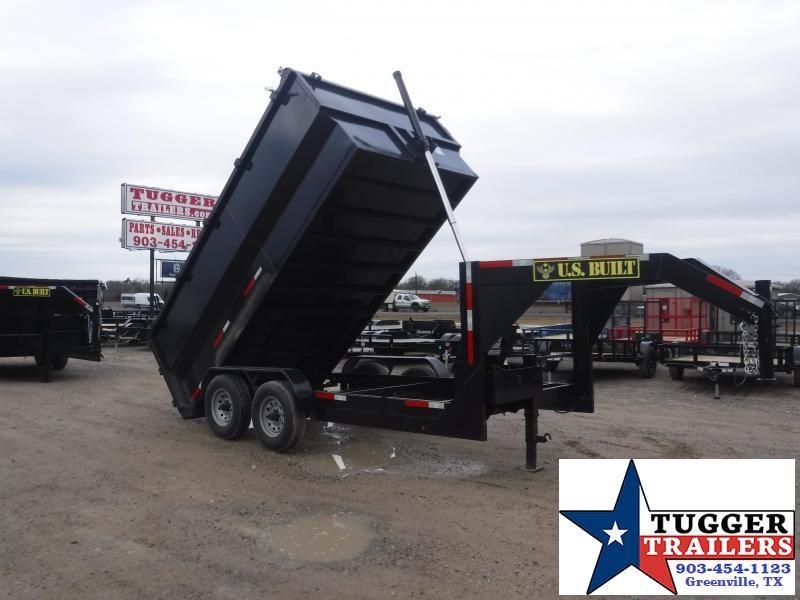2021 Texas Pride Trailers 7x14 14ft Utility Work Rock Asphalt Remodel Equip Dump Trailer
