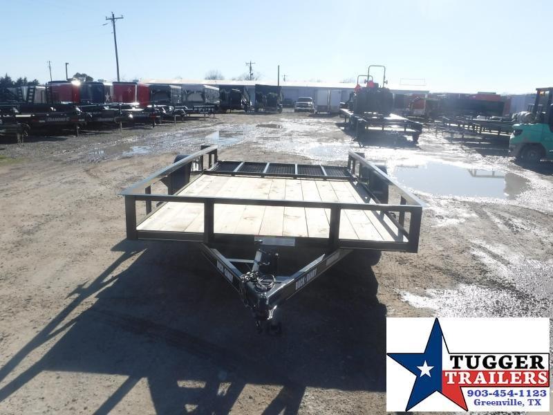 2021 Buck Dandy 83x14 14ft Side Toy Work Open Tool Farm Utility Trailer