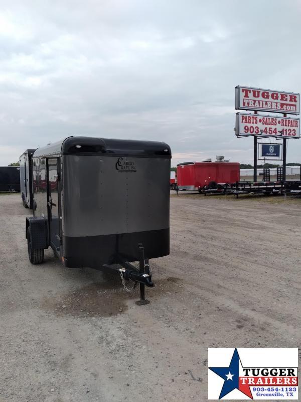 2020 Cargo Craft 5x10 10ft Explorer Utility Black Out Box Travel Enclosed Cargo Trailer