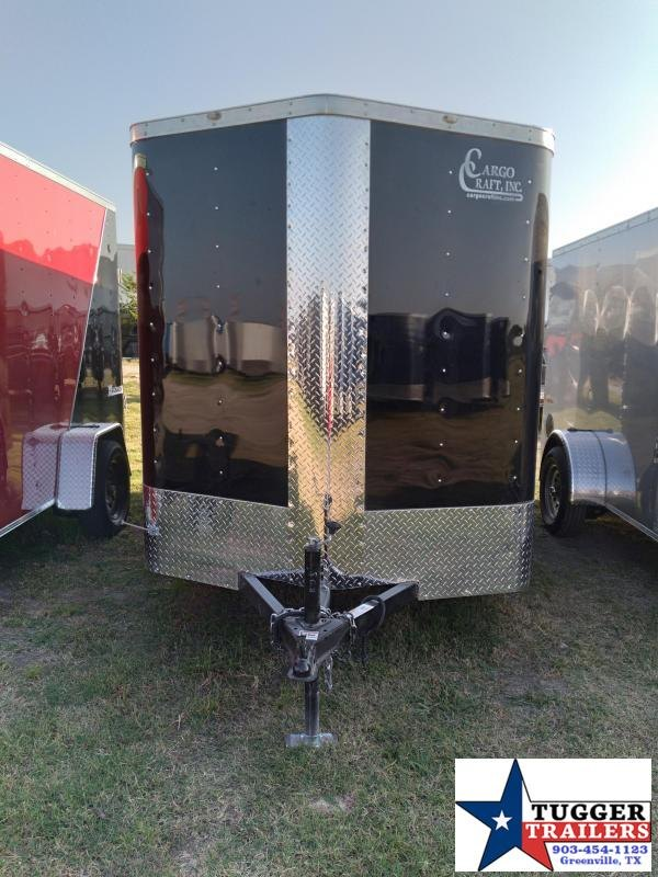 2021 Cargo Craft 6x10 10ft Elite V-Nose Utility Box Move Travel Enclosed Cargo Trailer