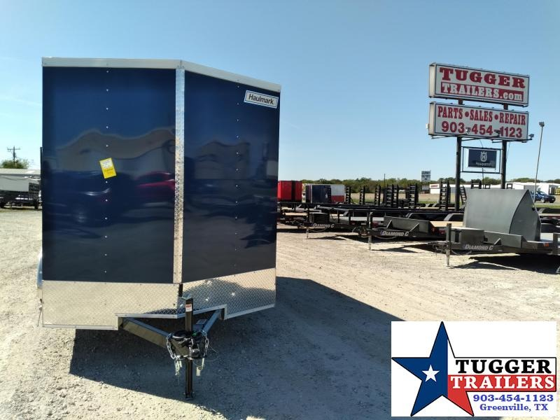 2021 Haulmark 7x14 14ft Utility Sport Tailgate Band Tool Work Enclosed Cargo Trailer