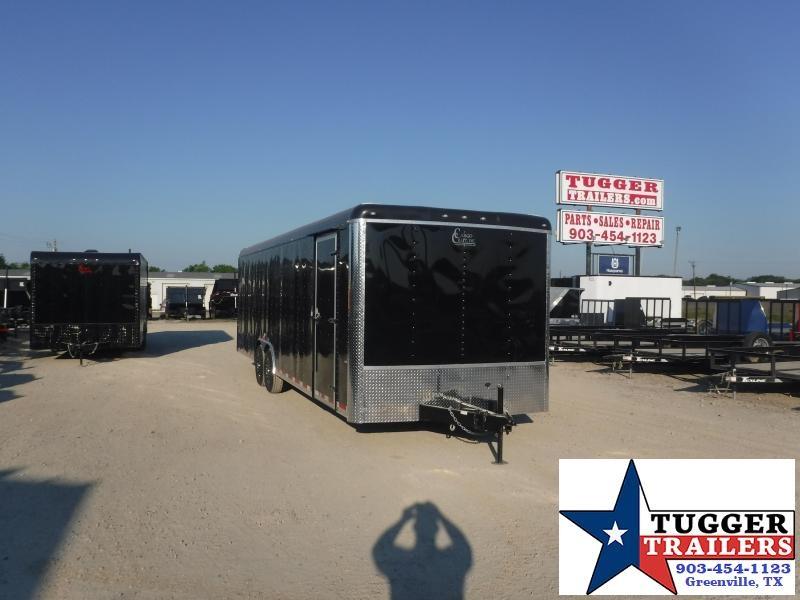 2020 Cargo Craft 8.5x28 28ft Auto Mobile Box Utility Classic Cargo Car / Racing Trailer