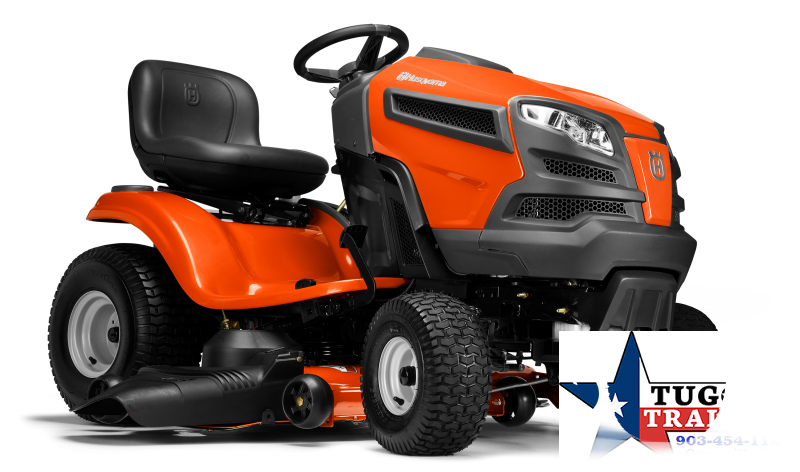 2020 Husqvarna 24-HP V-twin Hydrostatic 48-in Riding Lawn Mower Lawn Equipment