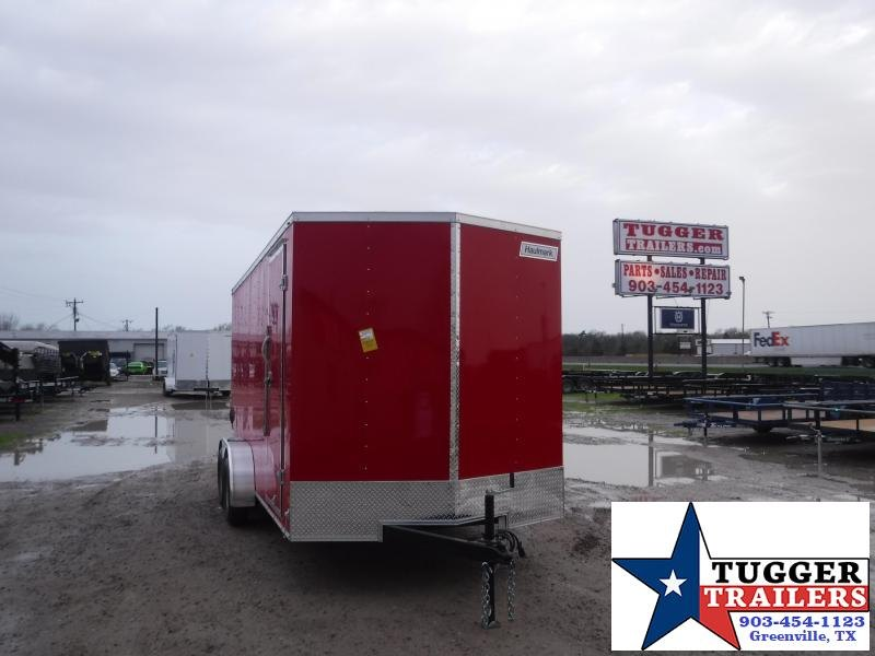 2021 Haulmark 7x16 16ft Utility Box Toy Side Work Mow Landscape Enclosed Cargo Trailer