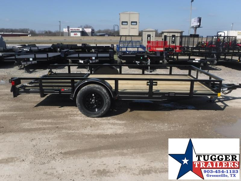 2021 Buck Dandy 83x14 14ft side toy lawn moving work travel Utility Trailer