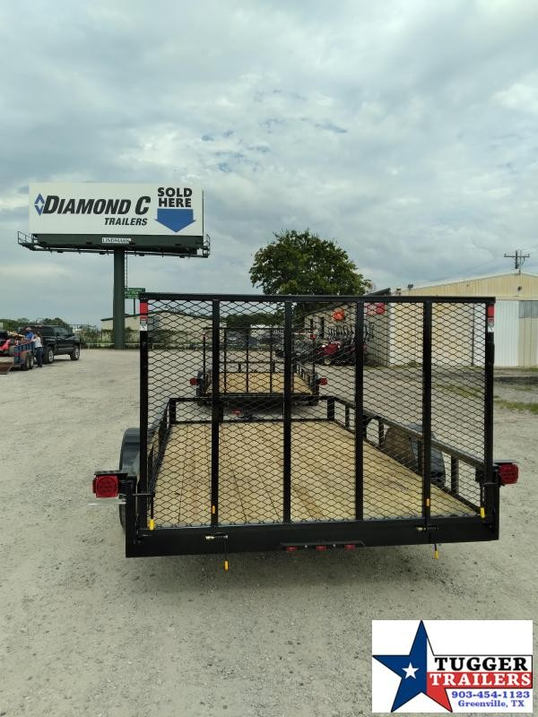 2020 Buck Dandy 77x12 12ft Open Flatbed Work Equipment Toy Side Utility Trailer