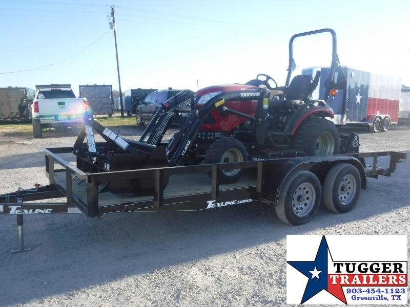 2021 Yanmar 221 Tractor Bundle Belly Mower Box Scraper Tiller Utility Trailer