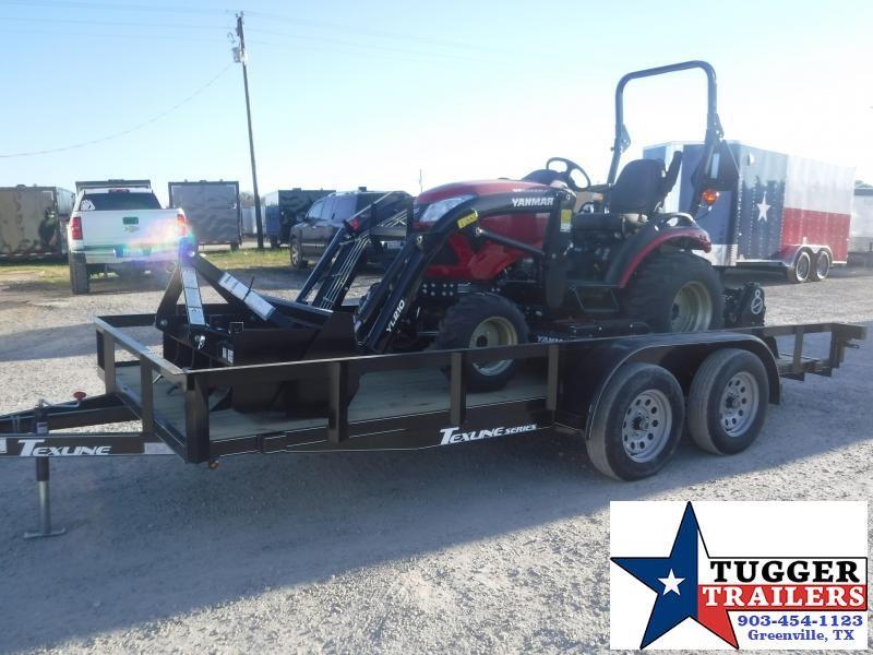 2021 Yanmar 221 Tractor Bundle Belly Mower Box Scraper Tiller Utility Trailer