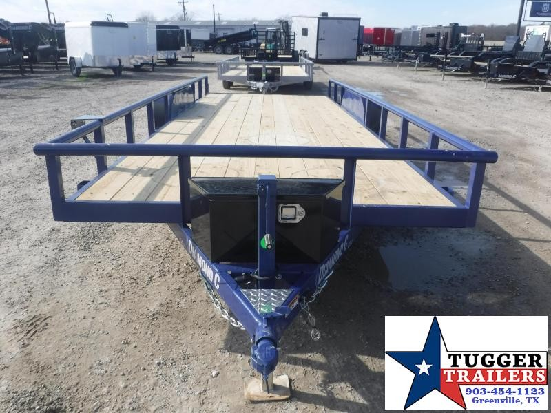 2021 Diamond C Trailers 83x20 20ft GTU Side Toy Work Move Travel Tool AG Utility Trailer