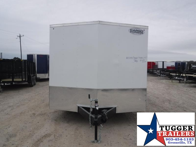 2022 Cargo Express 8.5x20 20ft V-Nose Cargo Enclosed Auto Mobile Car / Racing Trailer