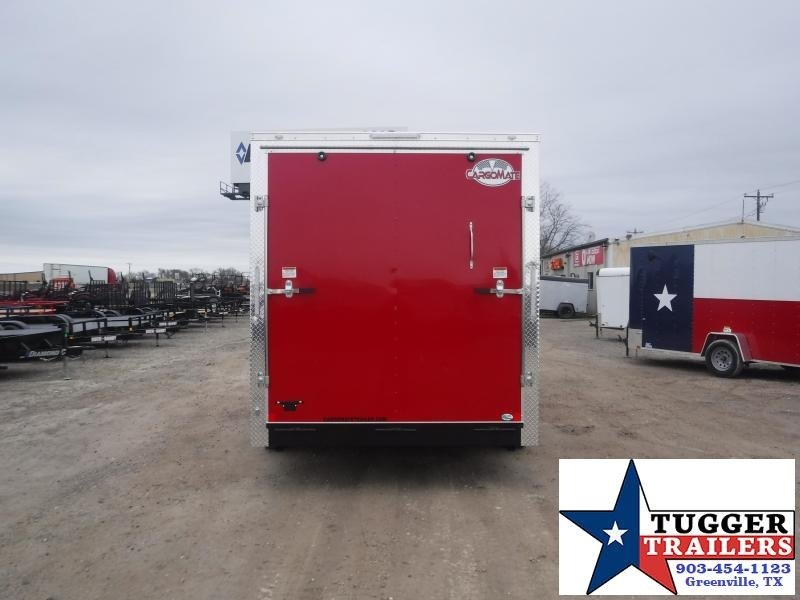 2021 Cargo Mate 7x16 16ft Utility Work Tool Landscape Travel Move Enclosed Cargo Trailer