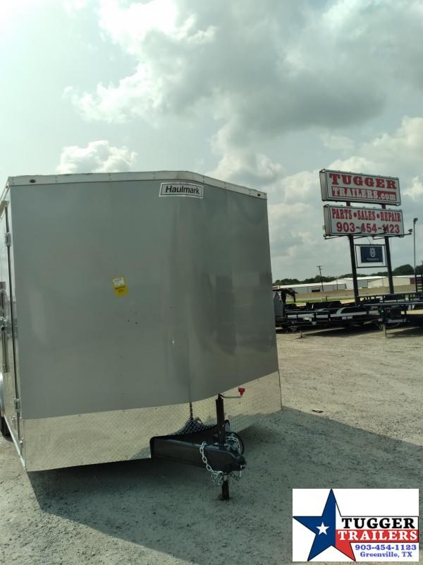 2021 Haulmark 8.5x16 16ft Passport Utility Toy Side Auto Move Enclosed Cargo Trailer