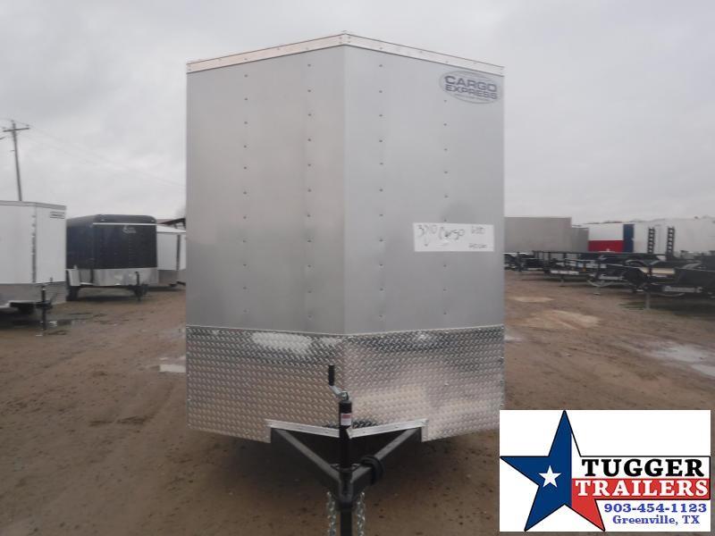 2021 Cargo Express 6x10 10ft Utility Tool Work Landscape Storage Enclosed Cargo Trailer