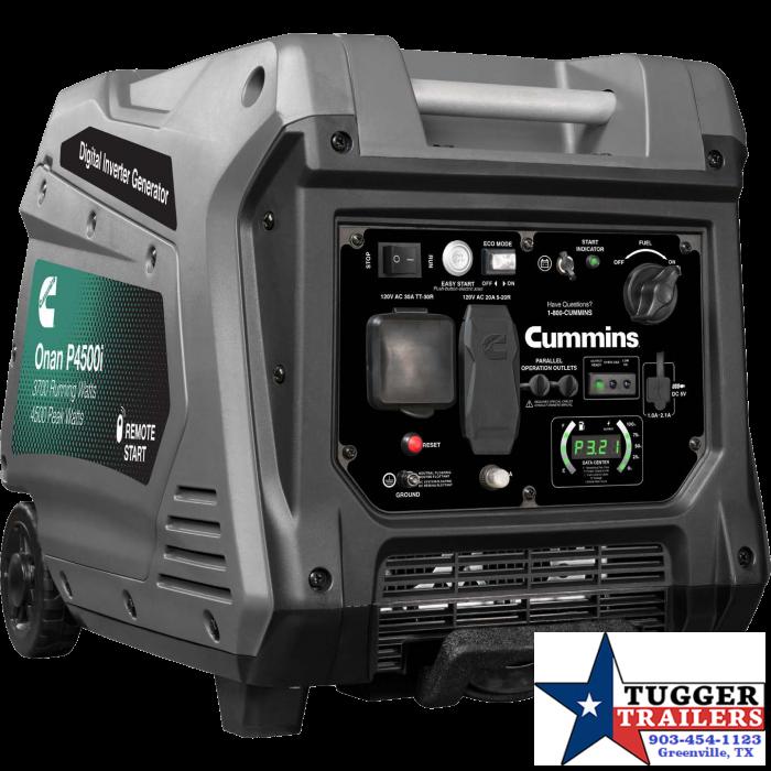 2021 Onan P4500i Inverter Portable Generator Generator