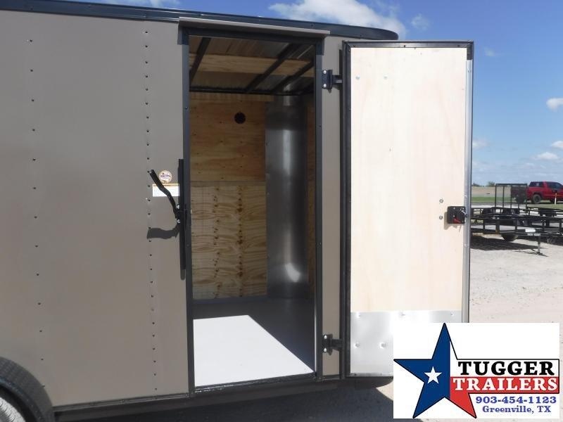 2021 Cargo Craft 7x16 V-Nose Enclosed Cargo Trailer