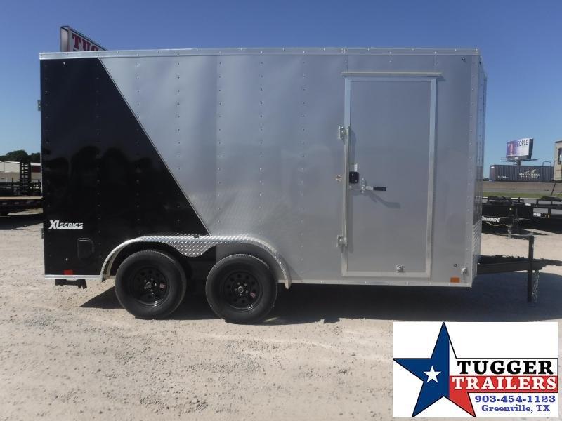 2021 Cargo Express 7x14 V-Nose Utility Trailer XLW Cargo/FlatTop