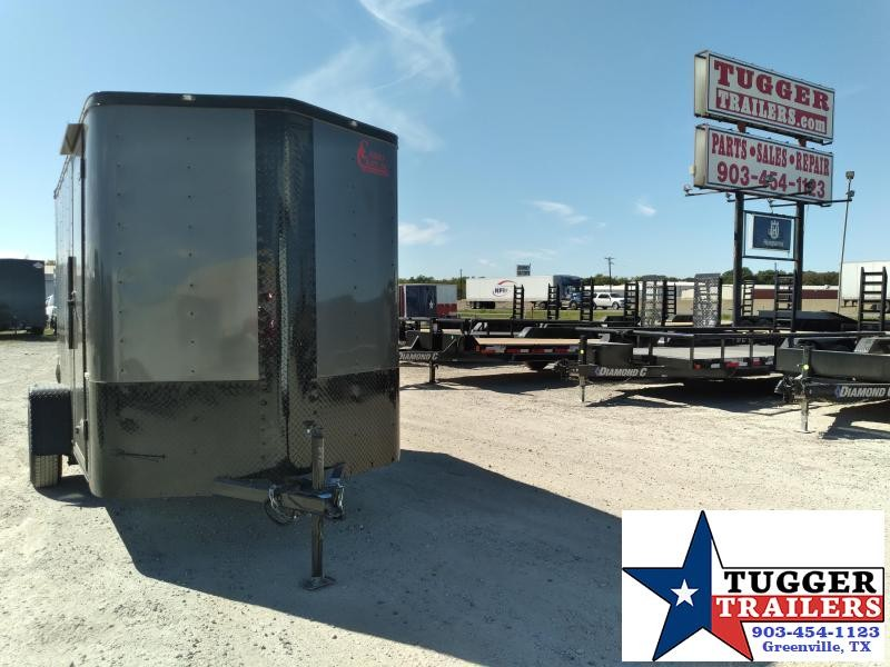 2021 Cargo Craft 6x10 Elite V-Nose Enclosed Cargo Trailer