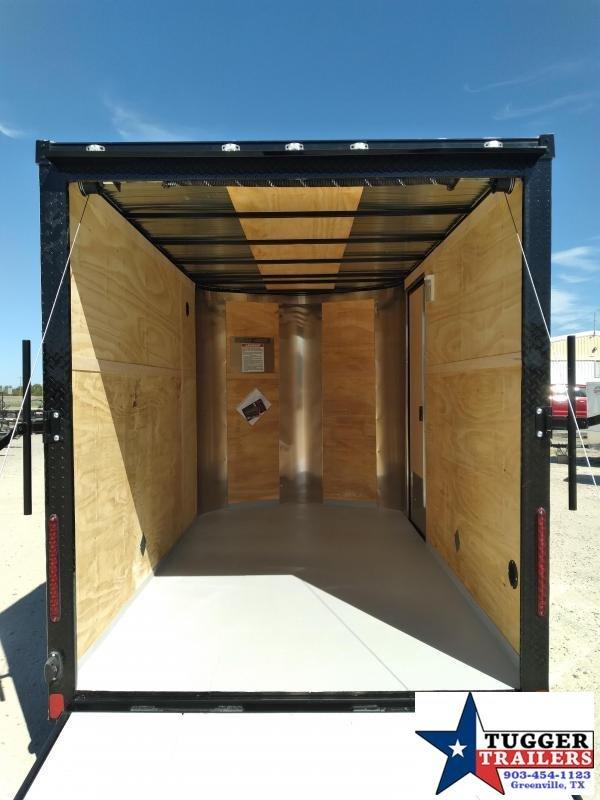 2021 Cargo Craft 6x10 Elite V-Nose Enclosed Cargo Trailer